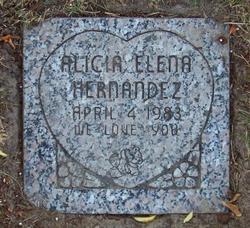 Alicia Elena Hernandez