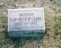 Elizabeth Wallace <i>Hutchison</i> Curry