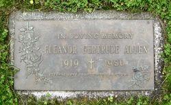 Eleanor G Allen