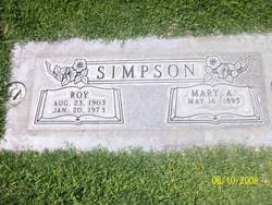 Mary Alice <i>Henson</i> Simpson
