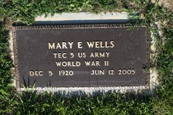 Mary E. <i>Heck</i> Boehmer Wells