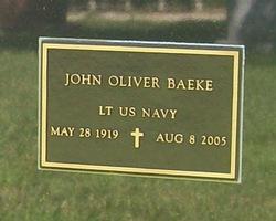 Dr John Oliver Baeke