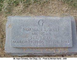 Norman E Abel