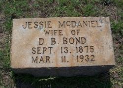 Jessie <i>McDaniel</i> Bond