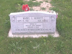 Mabel Louise <i>Griggs</i> Merritt