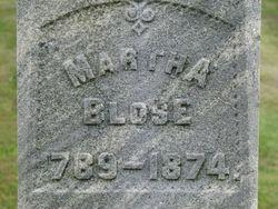 Anna Martha <i>Walton</i> Blose
