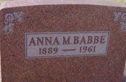 Anna M. Babbe