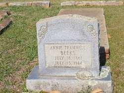 Annie Eliza <i>Trammell</i> Beeks