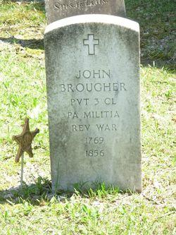 Pvt John Brougher