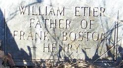 William Ferdinand Etier