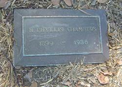 Phyllis H. Chambers