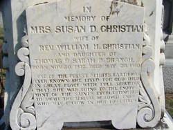 Susan Doggett <i>Branch</i> Christian