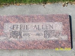 Effie <i>Fisher</i> Allen