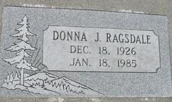 Donna Jean <i>Myers</i> Ragsdale