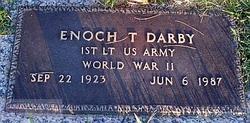 1LT Enoch T Darby