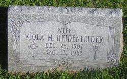 Viola M. <i>Dietz</i> Heidenfelder