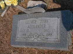 George Toby Alexander