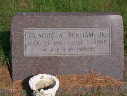 Claude A Benham, Jr