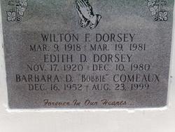 Barbara <i>Dorsey</i> Comeaux