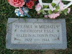Pvt Paul Hayes Michaels