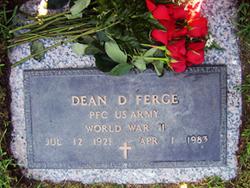 PFC Dean Delbert Ferge, Sr