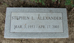 Stephen L Alexander