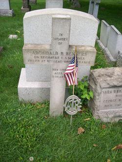 Pvt Archibald B. Benners