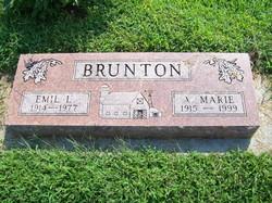A. Marie Brunton