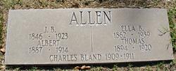 Mary Eleanor Ella <i>Bole</i> Allen