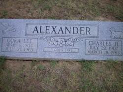Cora Lee <i>Pack</i> Alexander