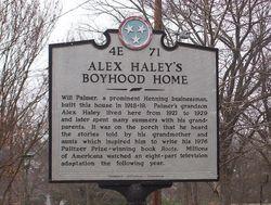 Alex Haley's Boyhood Home