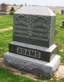 Ann Eliza <i>Buvinger</i> Adams