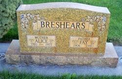 Alice <i>Carter</i> Breshears