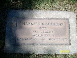 Harless David Simmons