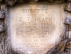 Pvt Zachariah T Zachary Heath