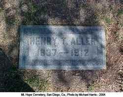 Henry T Aller