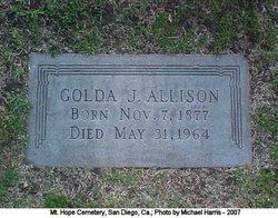 Golda J Allison