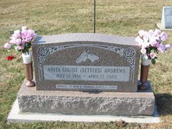 Anita Louise <i>Settles</i> Andrews