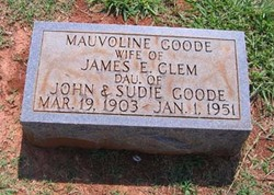 Mauvoline <i>Goode</i> Clem