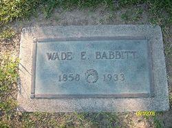 Wade E Babbitt