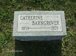 Catherine <i>Hiler</i> Barngrover