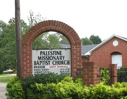 Palestine Missionary Baptist Church Cemetery