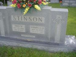 Harriett <i>Hicks</i> Stinson
