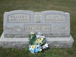 Lizzie V <i>Rick</i> Boyer