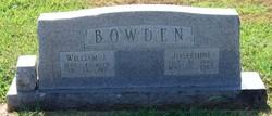 Josephine <i>Williamson</i> Bowden
