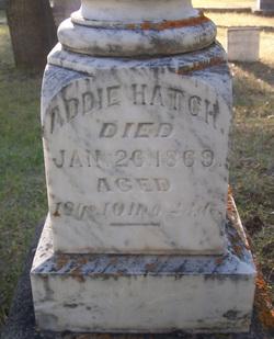 Addie <i>Johnston</i> Hatch