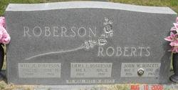 Emma Jane <i>Lee Roberts</i> Roberson
