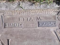 Etta M. <i>Finn</i> Cain
