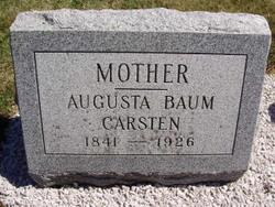 Augusta <i>Lieske</i> Baum Carsten
