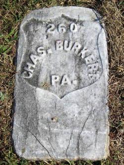 Pvt Charles Burkert